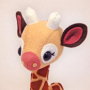 Giraffe - PDF Pattern Download